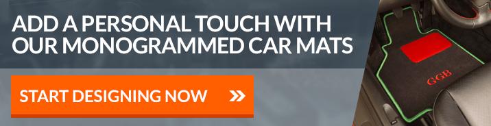 Monogrammed Car Mats