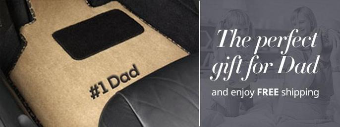 GGBAILEY Car Mats Father's Day