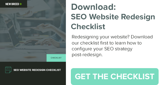 Download: SEO Website Redesign Checklist