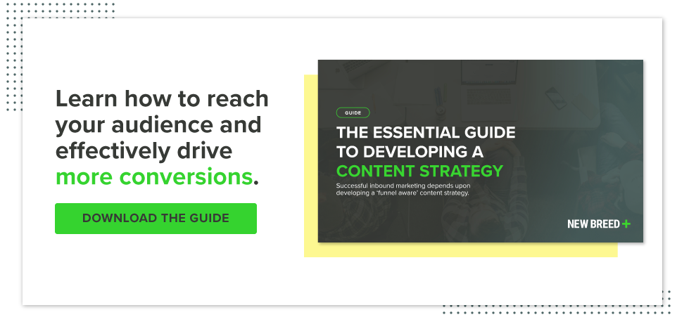 Develop a Successful B2B Content Strategy whitepaper