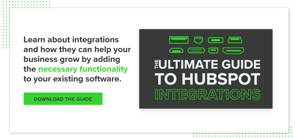 The Ultimate Guide to HubSpot Integrations