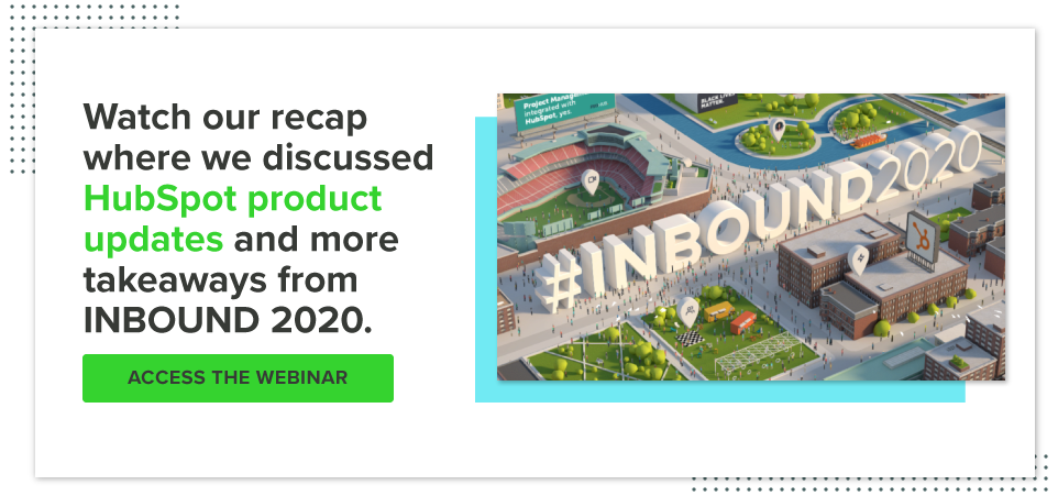 Access the recording of our INBOUND 2020 Recap and Reaction