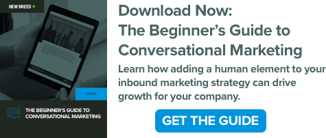 Download the Beginner's Guide to Conversational Marketing