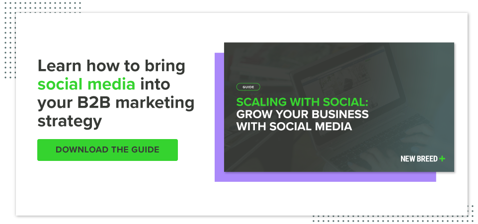 Download your guide to scaling with social