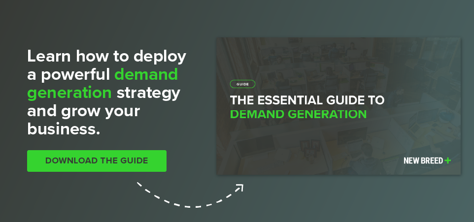 download the essential guide to demand generation