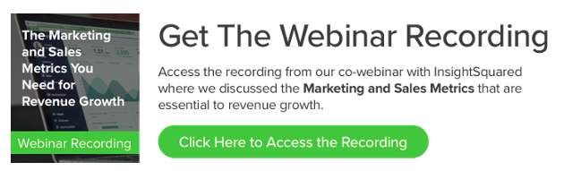 Marketing and Sales Metrics Webinar Recording