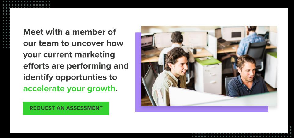 Request an inbound marketing assessment