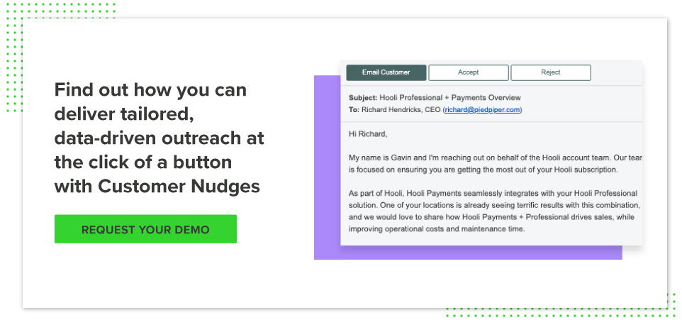 Request a customer nudges demo