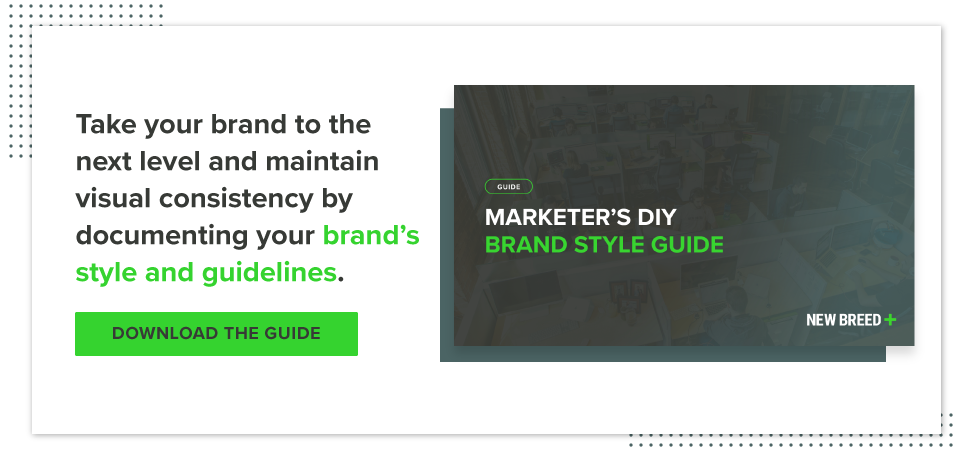 Download the DIY brand style guide