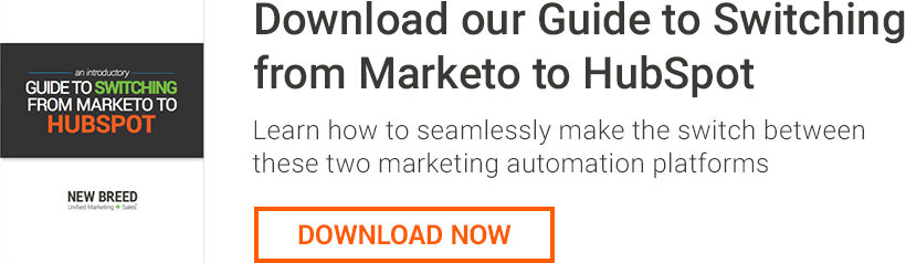 Switch from Marketo to HubSpot