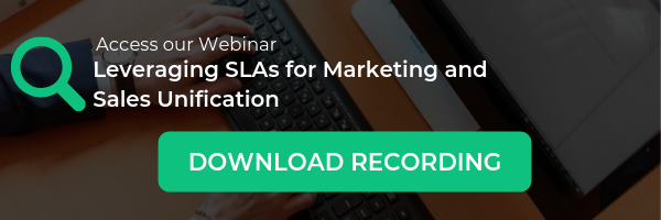 Access our Webinar: Leveraging SLAs for Marketing and Sales Unification