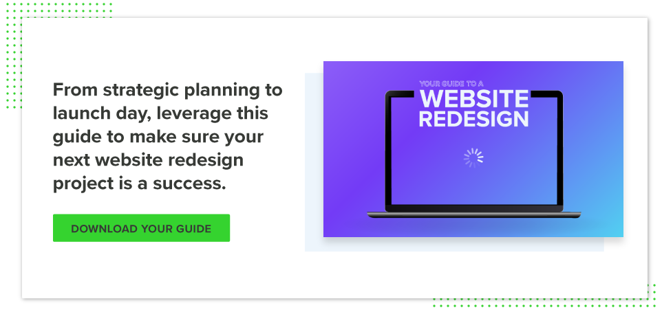Download your website redesign guide