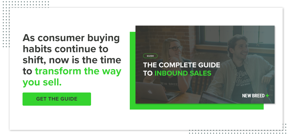 Download the complete guide to inbound sales
