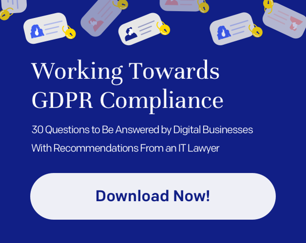 GDPR — 30 questions to by answered