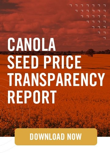 Emergence: Canola Seed Price Transparency - Vertical