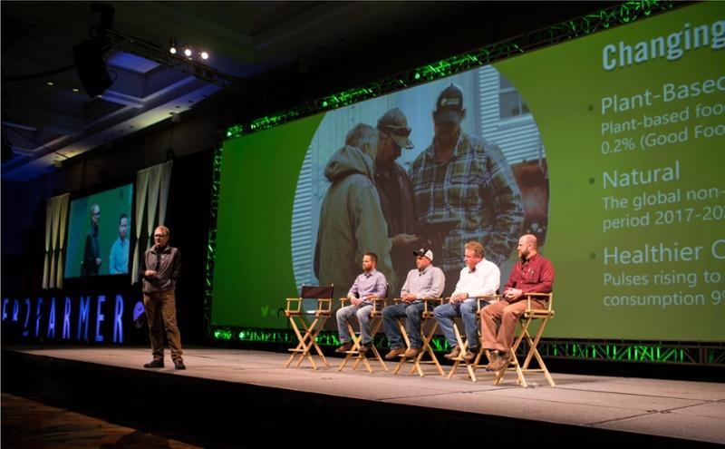 kevin mcnew farmer2farmer presentation about grain marketing trends