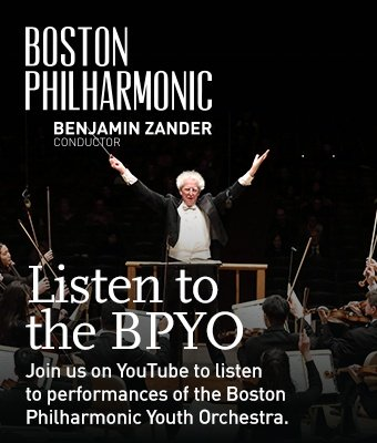 Listen to the Boston Philharmonic Youth Orchestra on YouTube!
