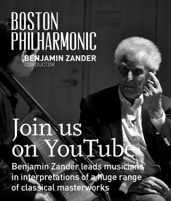 Join us on YouTube to listen to Benjamin Zander lead musicians in interpretations of a huge range of classical masterworks.