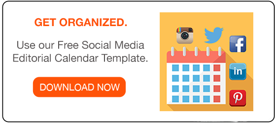 Get organized with a social media editorial calendar