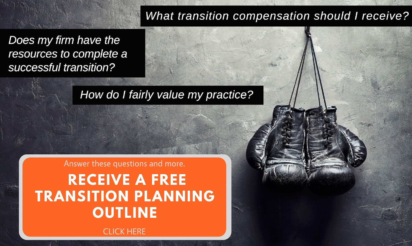 Law Firm Transition Plan Outline Offer