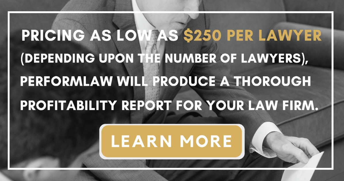Learn More About Profitability Reporting for Your Law Firm