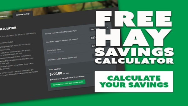 bale feeder savings calculator