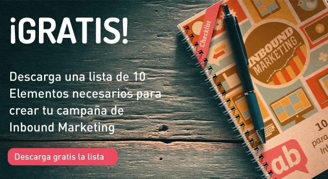 Descarga el checklist de Inbound Marketing