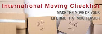 Get the moving abroad checklist that will make your transition to another country a whole lot easier
