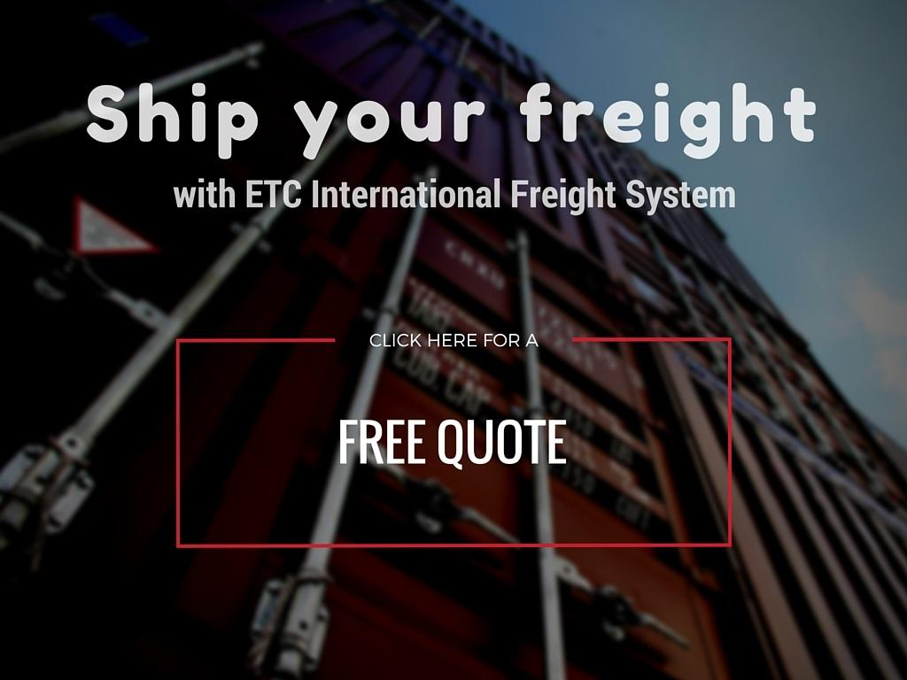 Let ETC International Freight System help you move your freight across borders today!