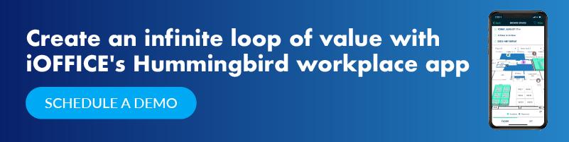 infinite loop with hummingbird
