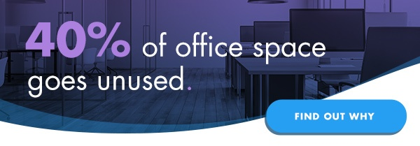 40% of office space goes unused, find out why.
