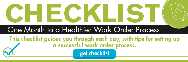 Download your checklist to get tips for setting up a successful work order process.