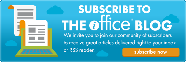 Subscribe to the iOffice Blog