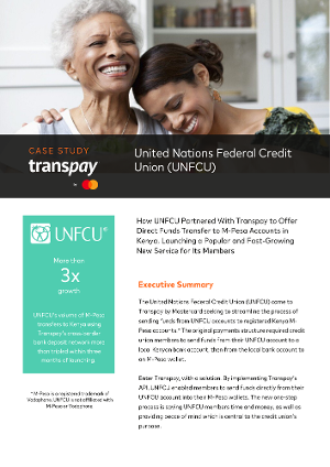 Transpay Case Study: United Nations Federal Credit Union (UNFCU)