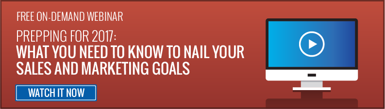 How to crush your sales and marketing goals in 2017