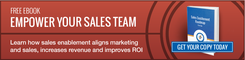 sales enablement to improve ROI