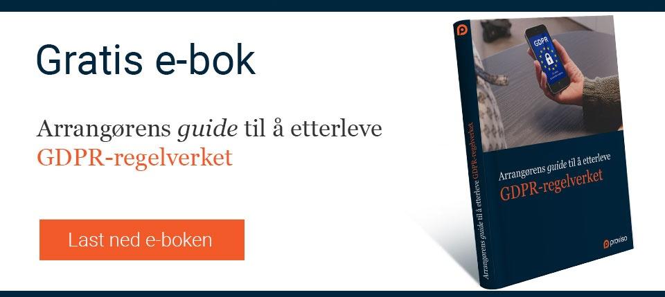 Gratis e-bok: GDPR-sjekkliste