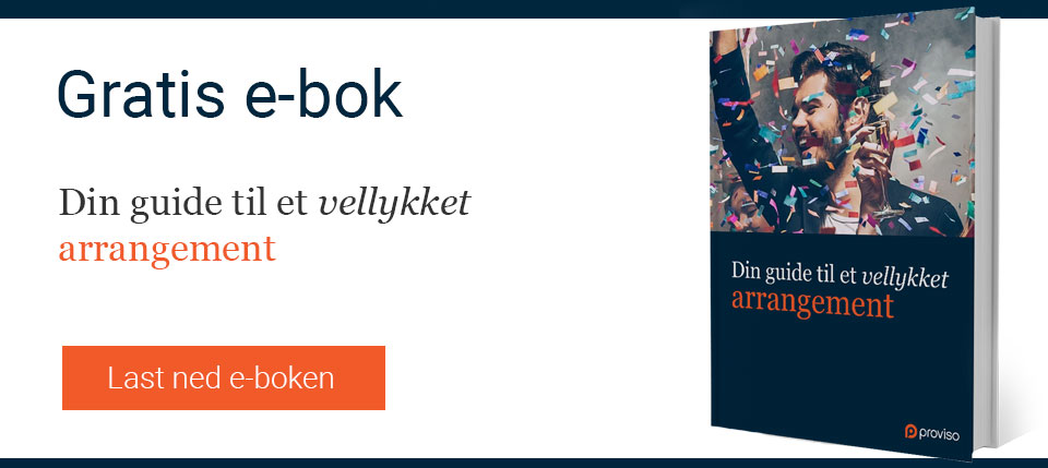 e-bok: et vellykket bedriftsarrangement
