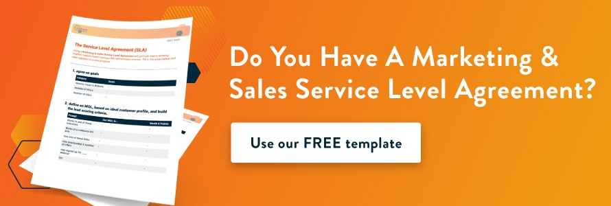 Generate More Revenue with a Sales & Marketing SLA - Download Now