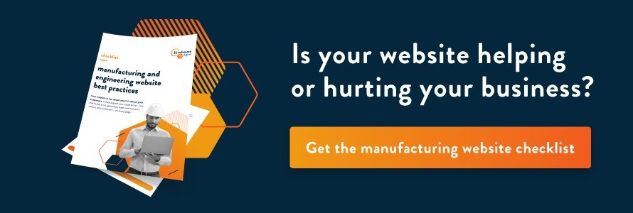 Download the Manufacturing Website Best Practices Checklist