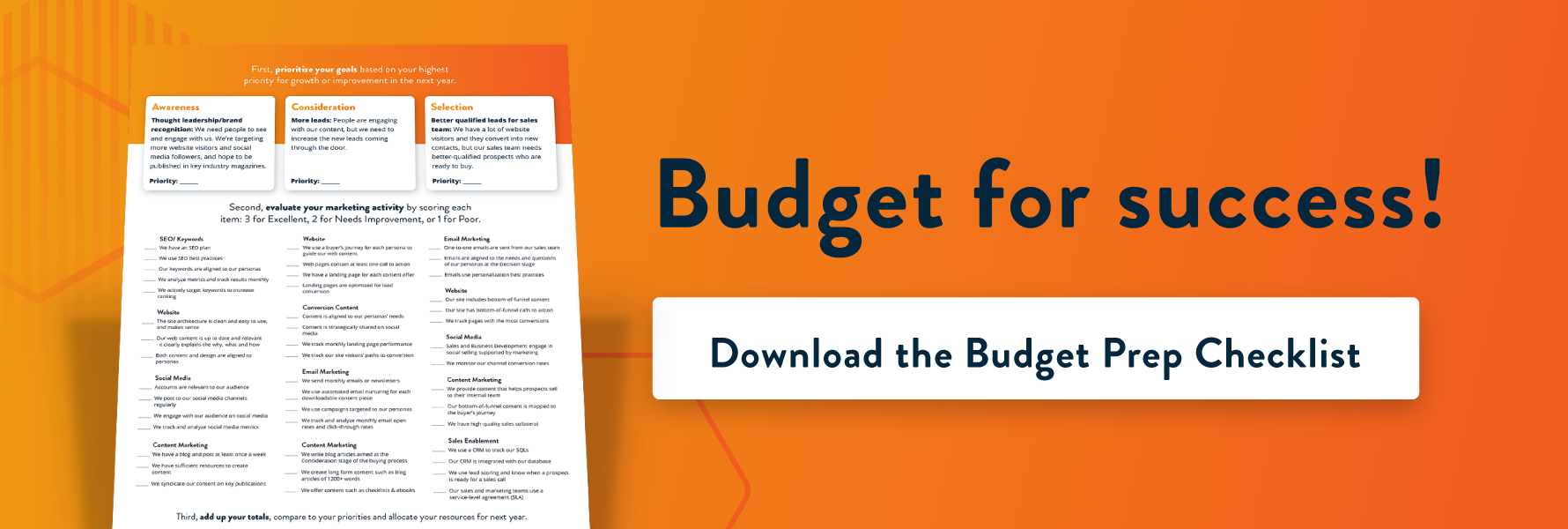 Click to download the Budget Prep Checklist