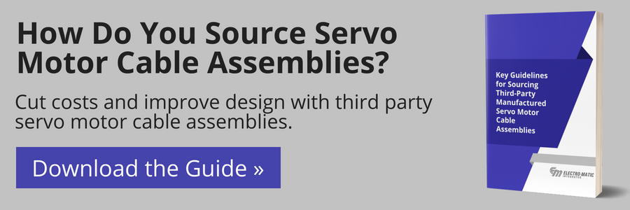 How do you source servo motor cable assemblies? Download the Guide