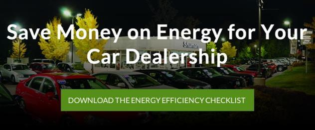 Car Dealership Energy Efficiency Checklist