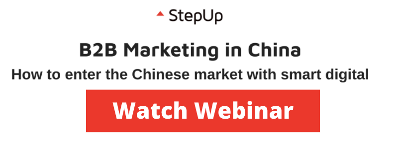 Watch B2B Marketing in China