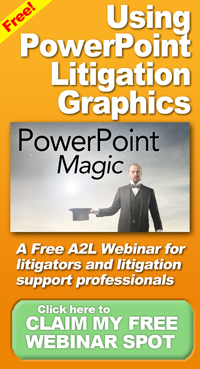 using powerpoint litigation graphics