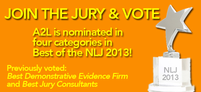 vote best of the NLJ 2013 now a2l consulting