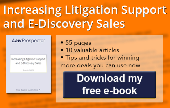 litigation support sales e-discovery