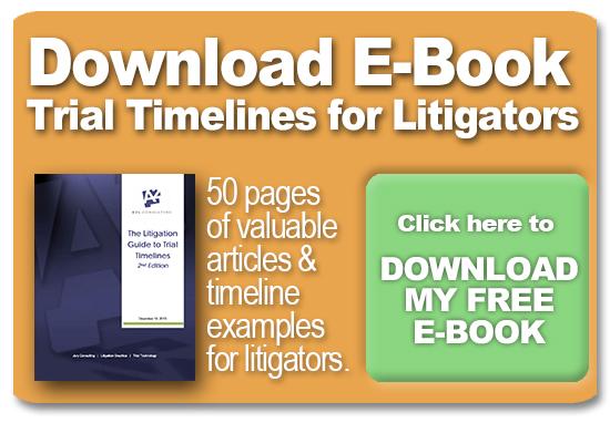 trial timeline trial graphics litigation courtroom timelines