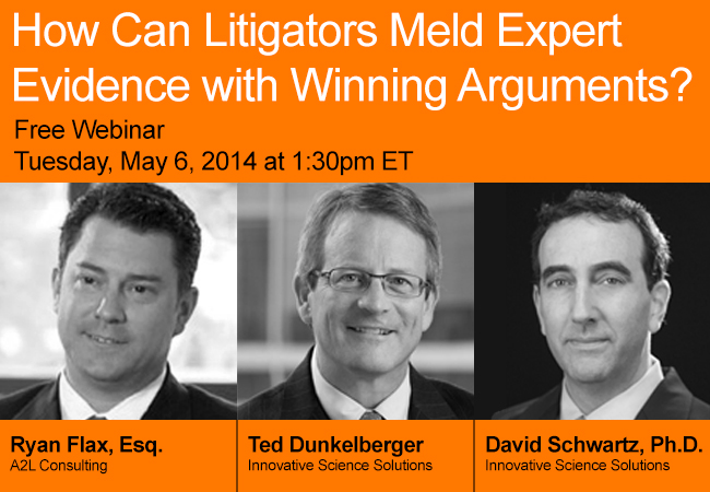 Integrating Expert Evidence and Argument in Complex Cases Webinar