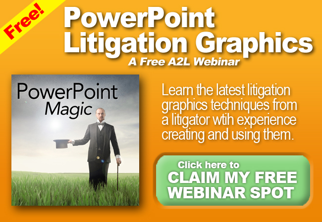 PowerPoint Litigation Graphics Webinar Consultants